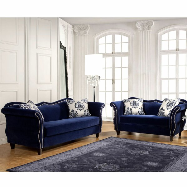 Gephart 2 Piece Living Room Set by Everly Quinn