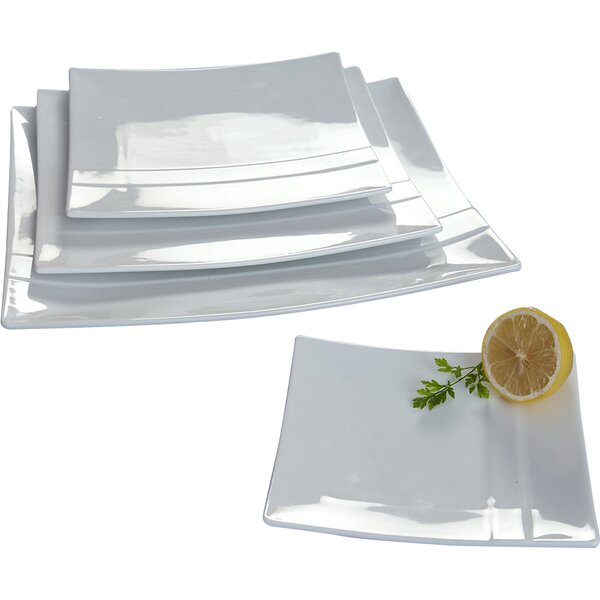 4 Piece Plate Set by Flato Home Products