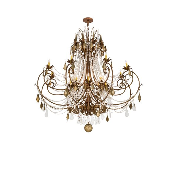 Zeinab 16 - Light Candle Style Empire Chandelier By Rosdorf Park
