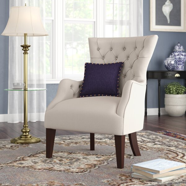 Button Tufted Wingback Chair by Birch Lane™