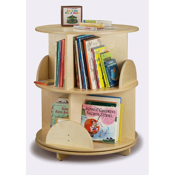 8 Compartment Book Display by Whitney Brothers