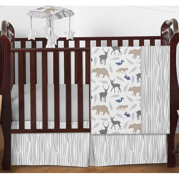 Woodland Animals 4 Piece Crib Bedding Set by Sweet Jojo Designs