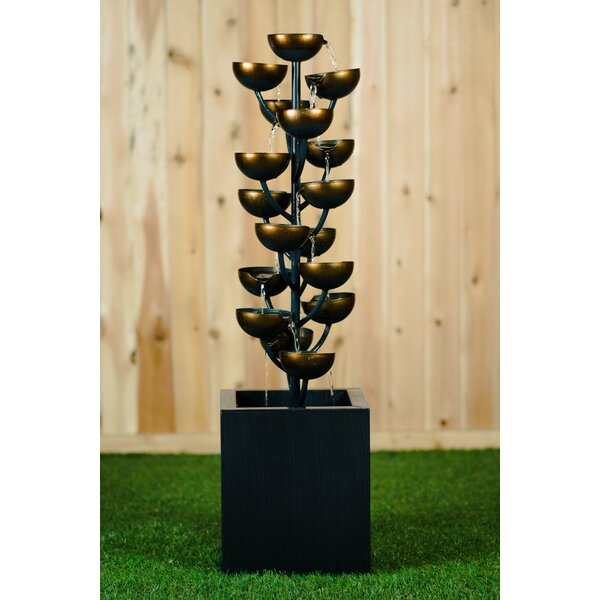 Metal Cups Fountain by Hi-Line Gift Ltd.