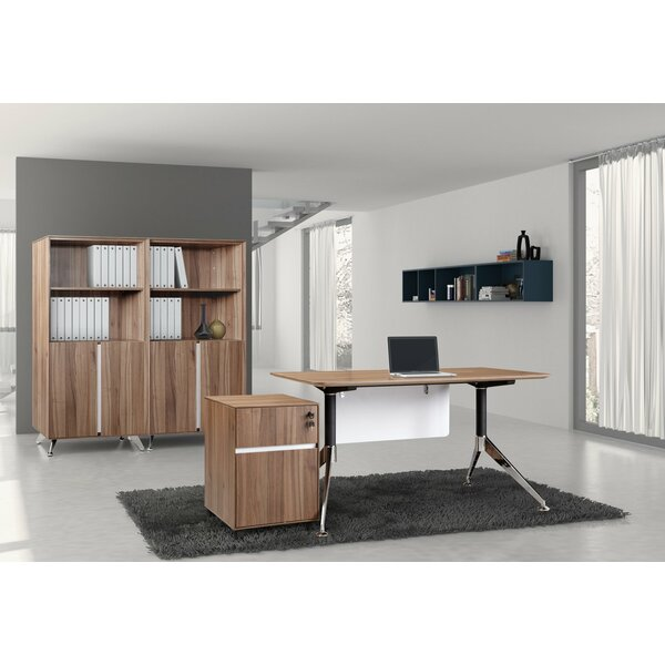 Manhattan 3 Piece Desk Office Suite by Haaken Furniture