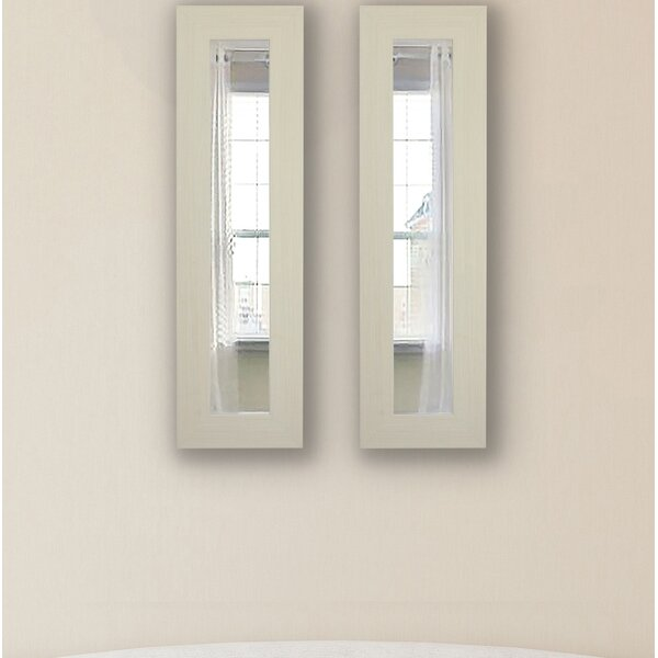Wayne Panel Accent Mirror (Set of 2) by Brayden Studio