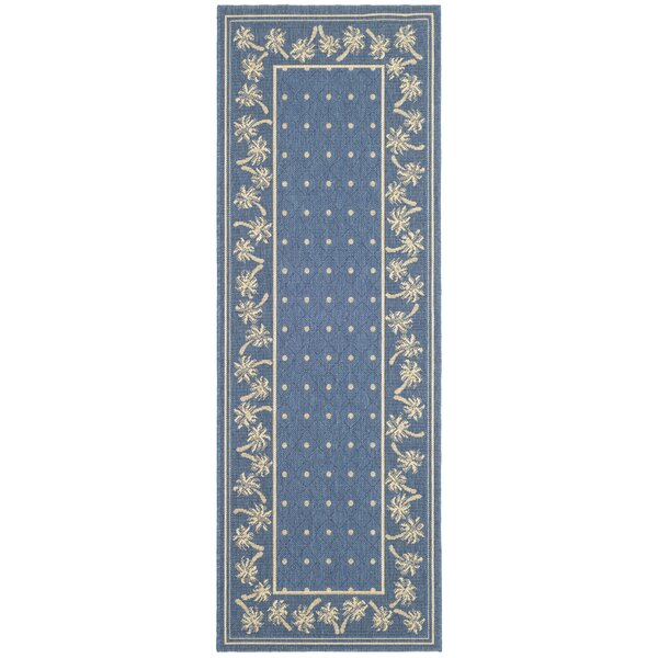 Romola Blue/ Indoor/Outdoor Rug by Highland Dunes