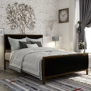 Pullins Upholstered Platform Bed by Wrought Studio