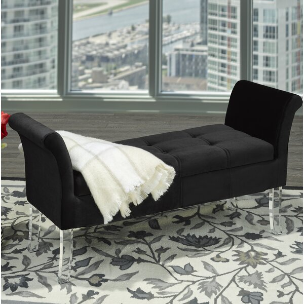 Triumph Upholstered Storage Bench by Brassex