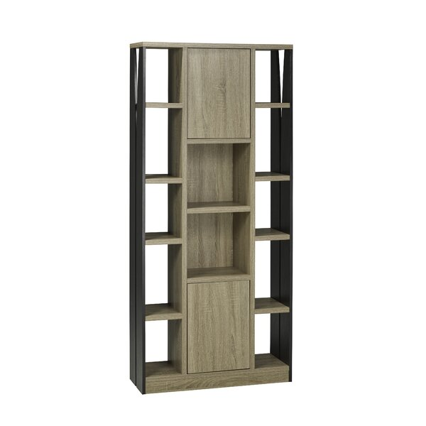 Multi-Tier Cube Unit Bookcase by Brassex