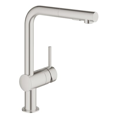 Grohe Kitchen Faucet Single Handle Super Steel Faucets