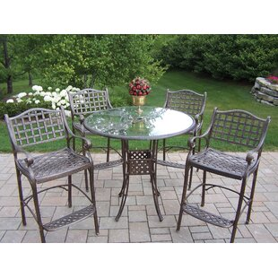Hummingbird Elite 5 Piece Bar Height Dining Set By Oakland Living