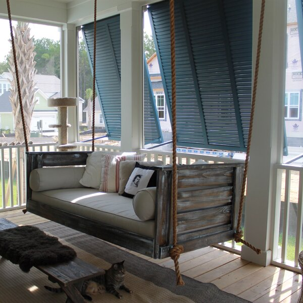 Essence Porch Swing by Longshore Tides