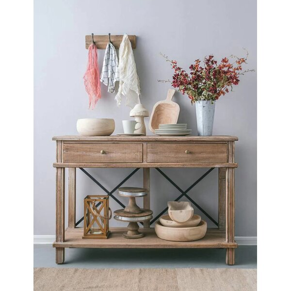 Review Chew Magna Timber Console Table
