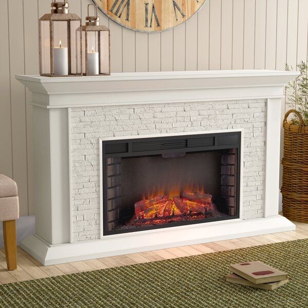 Alvar Simulated Electric Fireplace by Darby Home Co