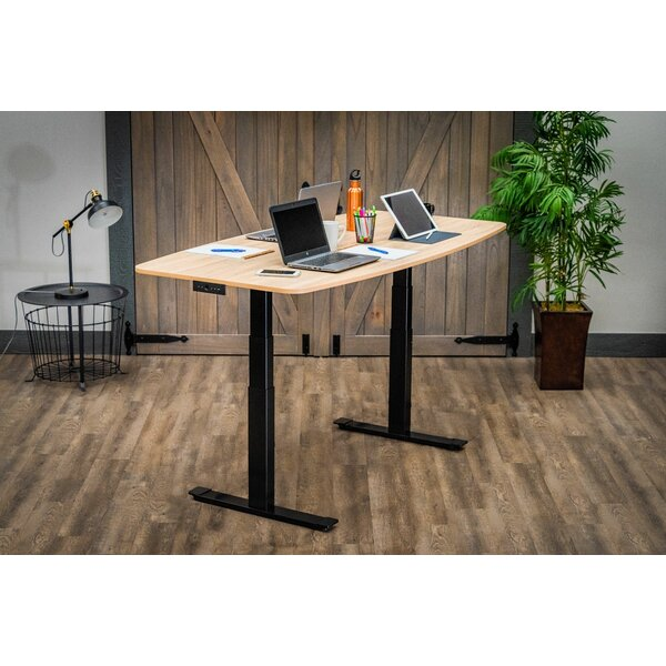Atoll Electric Rectangular 51.6H x 72L x 36W Conference Table by Symple Stuff