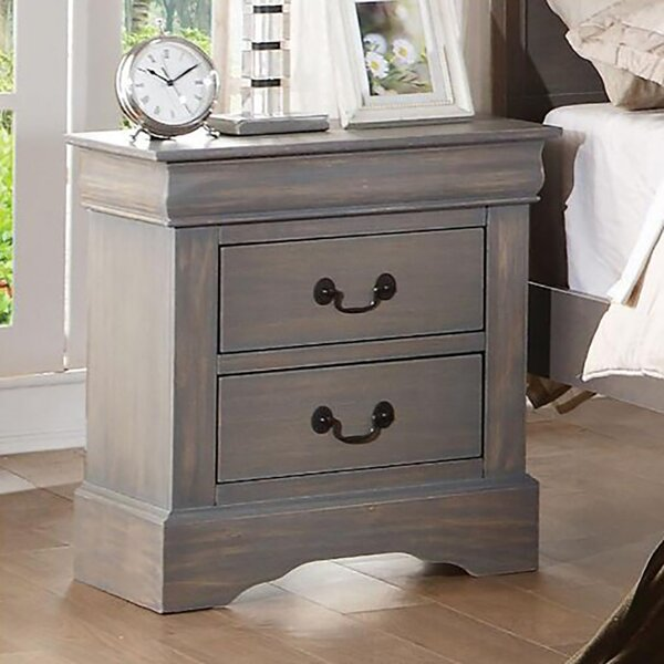 Ingrassia 2 - Drawer Bachelor's Chest in Gray by Canora Grey Canora Grey