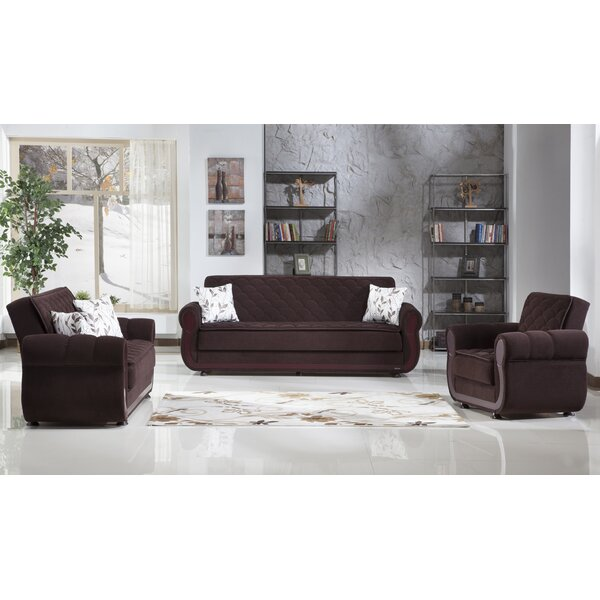 Argos Sleeper Configurable Living Room Set by Latitude Run