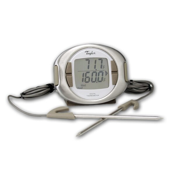 Connoisseur Digital Cooking Thermometer with Dual Probes by Taylor