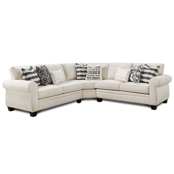 Judsonia Reversible Sectional by Darby Home Co