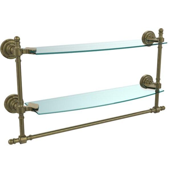 Retro Dot Duo Wall Shelf by Allied Brass