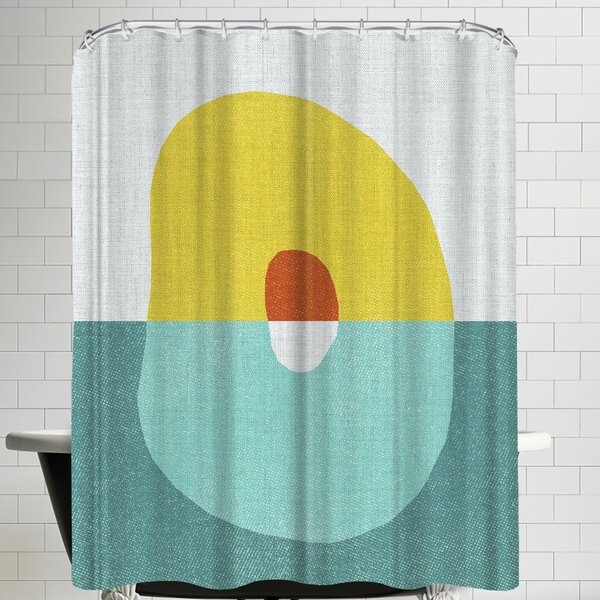 Annie Bailey Pods No V Shower Curtain by East Urban Home
