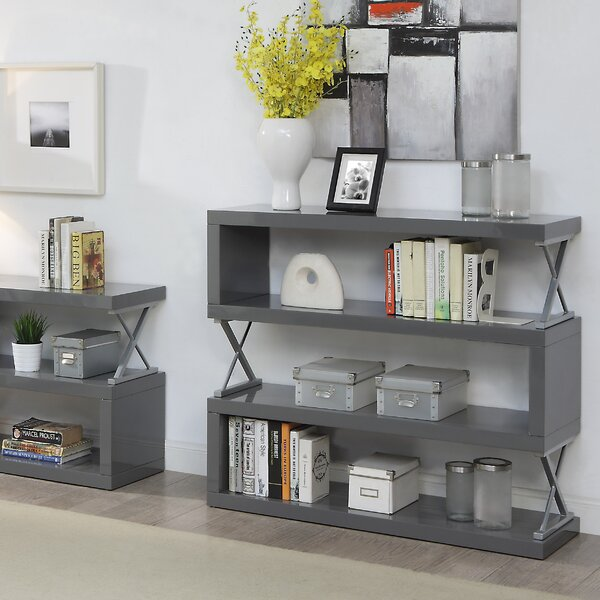 Parson 4 Shelf Standard Bookcase by Brayden Studio