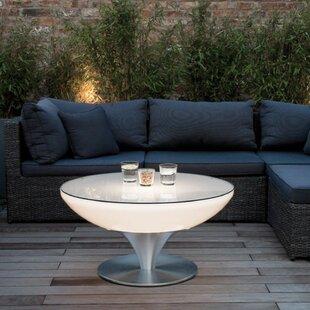 Micaela LED Plastic Coffee Table