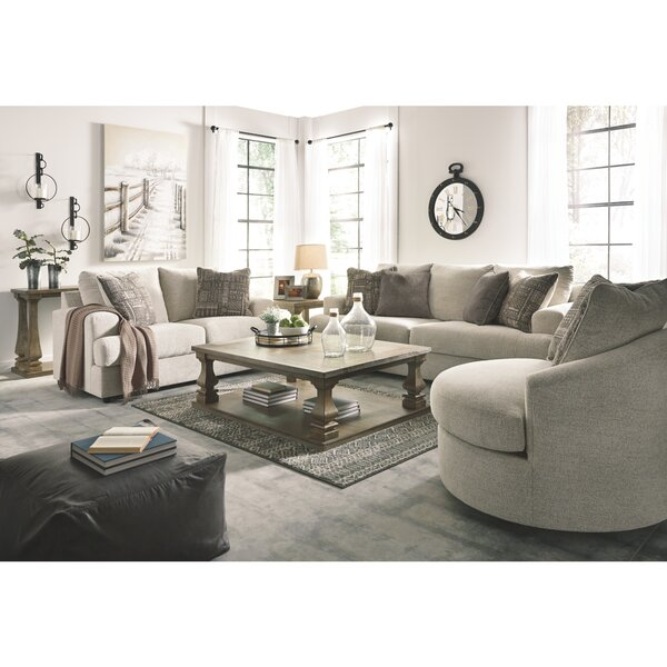 Alandari 3 Piece Sleeper Configurable Living Room Set by Brayden Studio