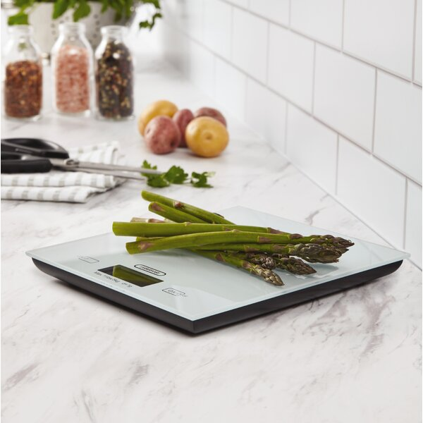 Pro Glass Top Digital Kitchen Scale by Farberware