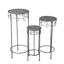 Auburn Road 3 Piece Plant Stand Set by Fleur De Lis Living