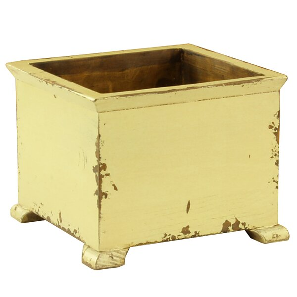 Rexford French Wood Planter Box by Bungalow Rose