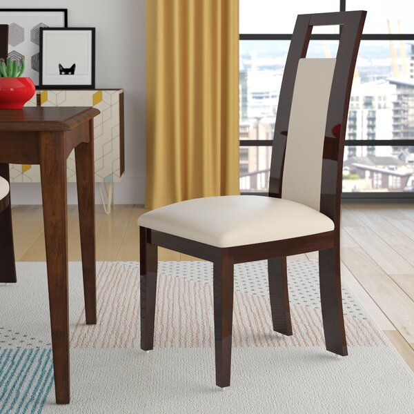 Straughter Upholstered Side Chair In Beige (Set Of 2) By Brayden Studio