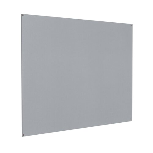 Wandmontierte Pinnwand ClearAmbient Größe: 120 cm H x 180 cm B x 0|9 cm T| Farbe: Silber | Büro > Tafeln und Boards > Hängetafeln | ClearAmbient