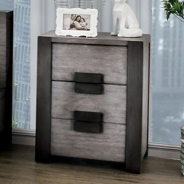 Bradninch 2 Drawer Nightstand By Brayden Studio by Brayden Studio New Design