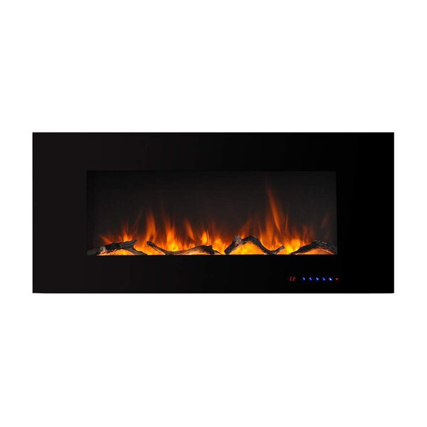 Golding Wall Mounted Electric Fireplace By Ebern Designs