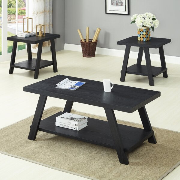 Filipek 3 Piece Coffee Table Set (Set of 3) by Win