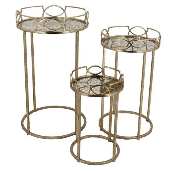 Tyronza 3 Piece Nesting Tables By Ophelia & Co.