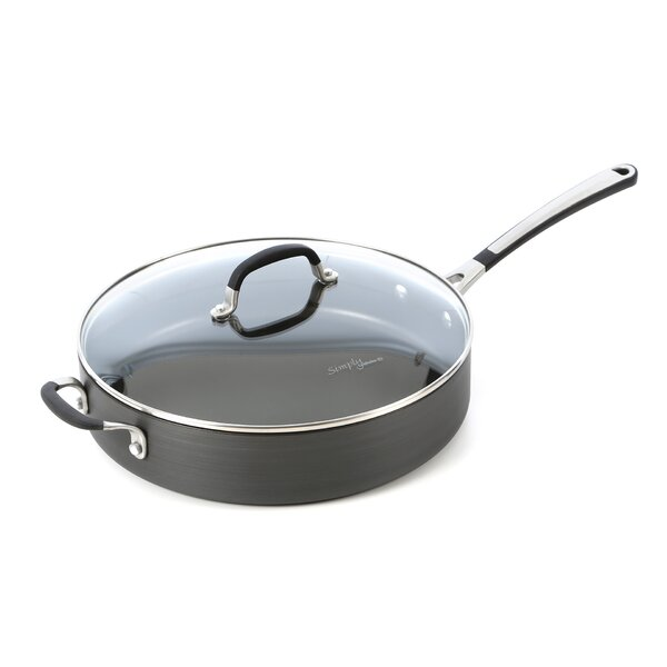 Simply Nonstick 5-qt. Saute Pan with Lid by Calphalon