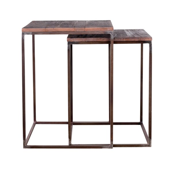 Charleston 2 Piece Nesting Tables by Wildon Home®