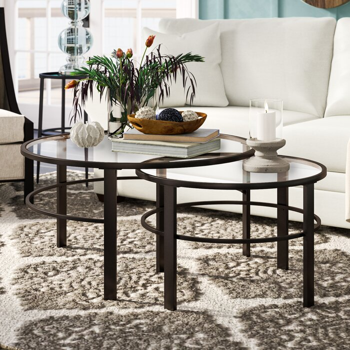 Eva 2 Piece Coffee Table Set