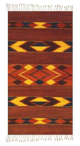 Arrow Zapotec Area Rug by Novica