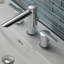 Compel Double Handle Deck Mount Roman Tub Trim by Delta