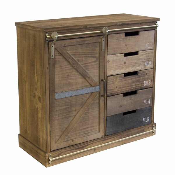 Mikaela 5 Drawer Accent Chest by Millwood Pines Millwood Pines