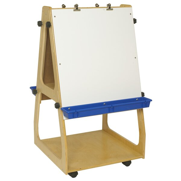 Adjustable Whiteboard 43.62 x 24 by Childcraft