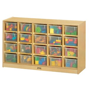 Looking for 20 Compartment Cubby with Casters ByJonti-Craft