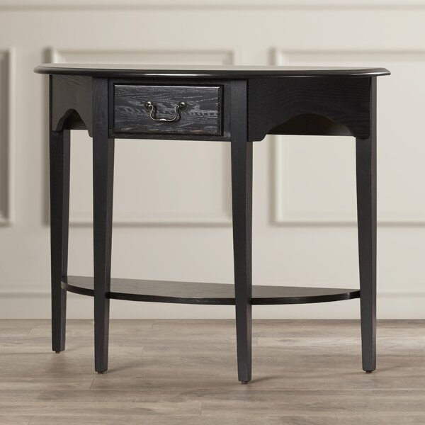 Review Wilfredo Demilune Console Table