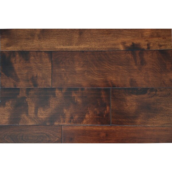 Tuscany 4-3/4 Solid Maple Hardwood Flooring in Maple by Alston Inc.