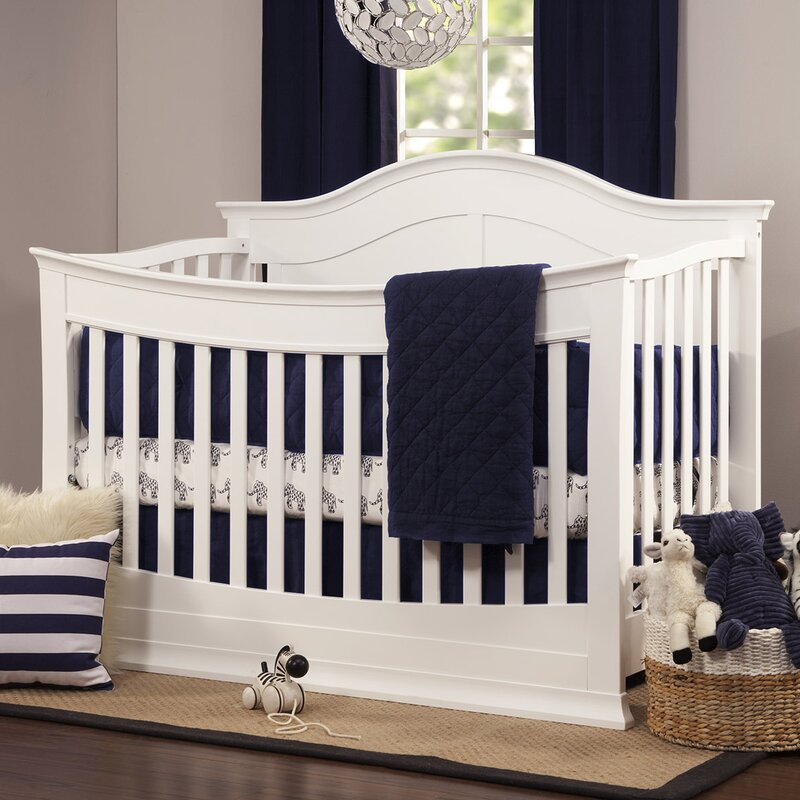 Davinci Meadow 4 In 1 Crib Full Size Conversion Kit Bed Rails Slate Nursery Furniture M5789