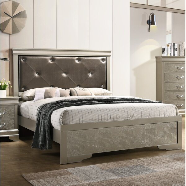 Mize Upholstered Standard Bed by House of Hampton
