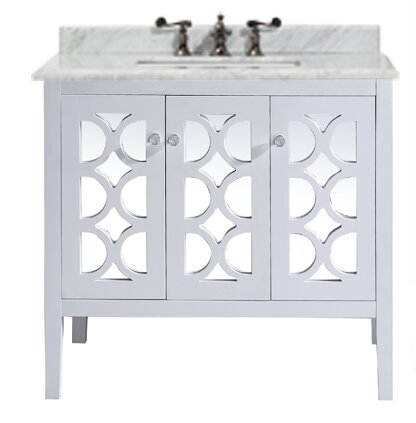 Mediterraneo 36 Single Bathroom Vanity Set by LavivaMediterraneo 36 Single Bathroom Vanity Set by Laviva